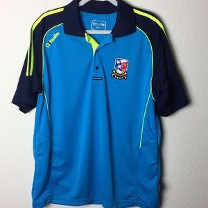O'Neillie Choice of Champion Blue Golf Shirt